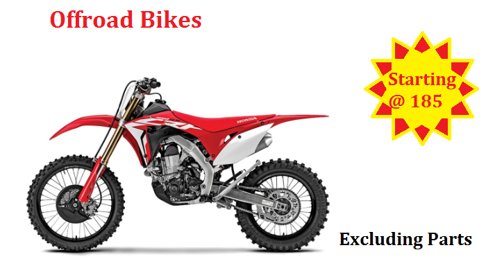 Offroad motorcycle repair shop dubai