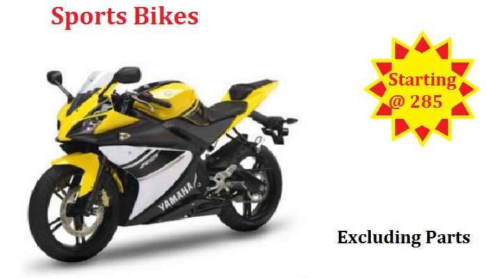 Sports Bike Repair shop dubai